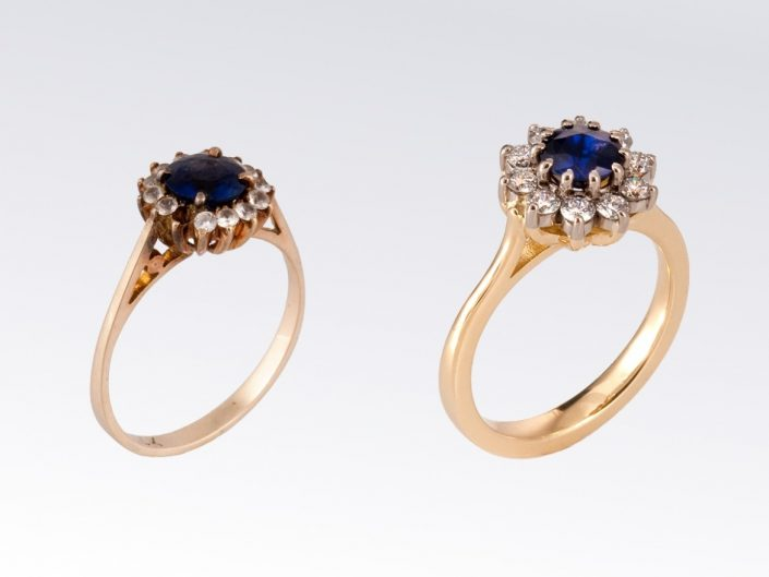 Piere Remodel Sapphire Ring
